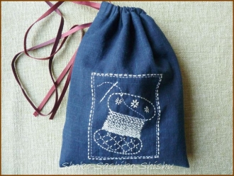 20140318 絞り 糸巻き 裁縫模様