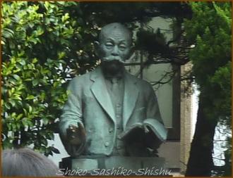 20140423 銅像 2 演劇博物館