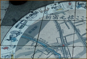 20140522 路上絵 左上 新宿三丁目 (1)