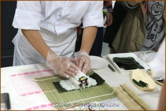 20140621 デモアンパン 1  飾り寿司