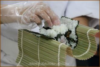 20140621 デモ花カタツムリ 1  飾り寿司