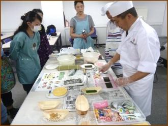 20140621 準備 2 飾り寿司