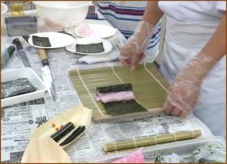 20140621 準備 3 飾り寿司