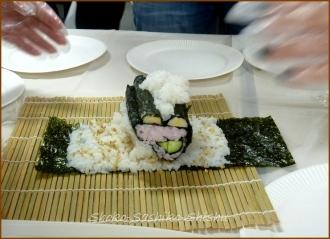20140622 コンテスト 4  飾り寿司