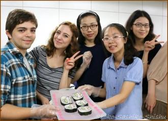 20140622 記念写真 3  飾り寿司