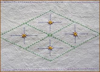 20140625 中心模様 紫布巾