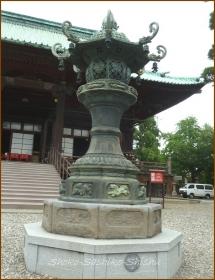 20140812 石灯篭 1 護国寺
