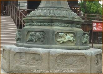 20140812 石灯篭 4 護国寺