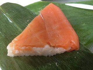 下田温泉の鱒寿司