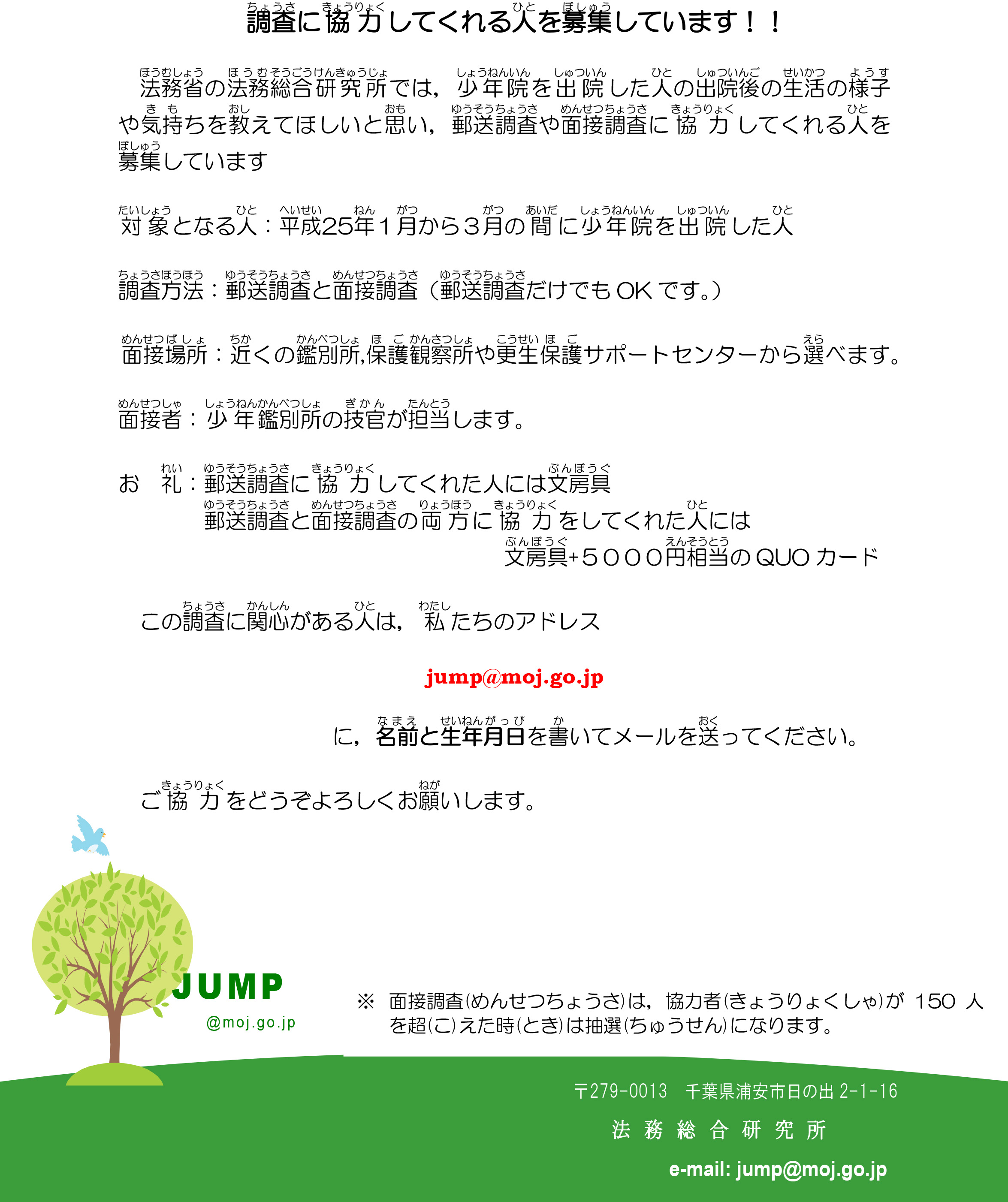 NPO等配布チラシ(1)