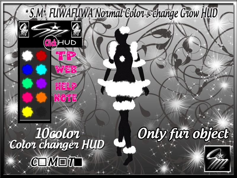 FUWAFUWA Normal Color change Grow HUD