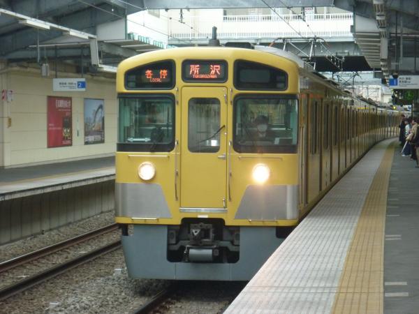 2013-12-27 西武2085F 各停所沢行き1