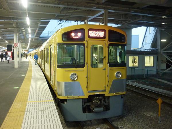 2013-12-27 西武2085F 各停西武球場前行き