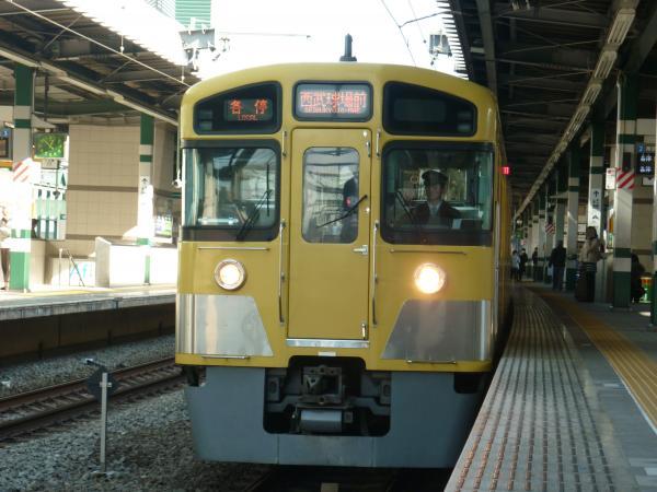 2014-01-18 西武2085F 各停西武球場前行き2