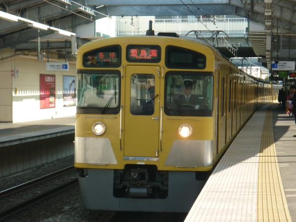 2014-01-18 西武2085F 各停豊島園行き