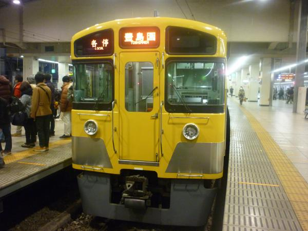 2014-01-18 西武2097F 各停豊島園行き2