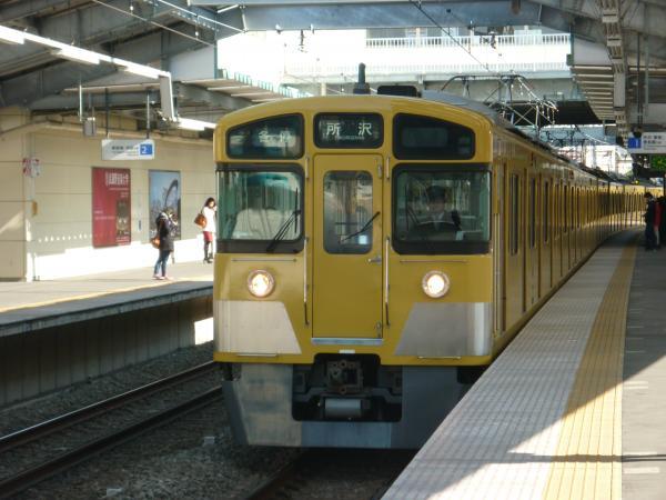 2014-02-22 西武2063F 各停所沢行き