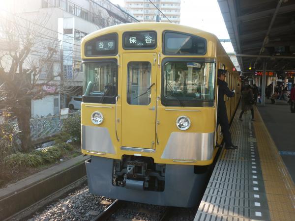 2014-02-22 西武2063F 各停保谷行き