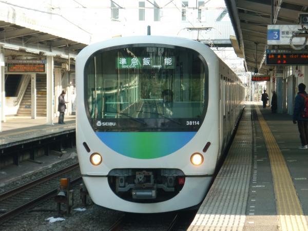 2014-02-22 西武38114F 準急飯能行き