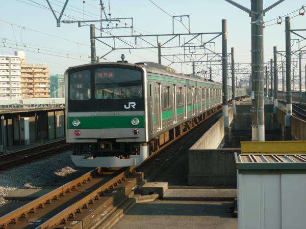 2013-11-24 埼京線205系ハエ32編成 新宿行き2