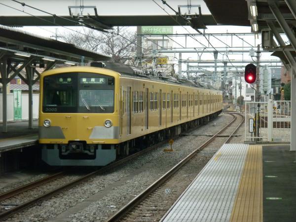 2014-02-28 西武3005F 各停新所沢行き2