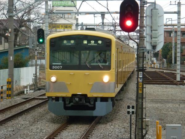2014-02-28 西武3007F 各停国分寺行き1