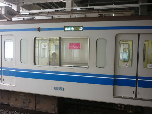 2014-02-28 西武6151F 準急池袋行き 側面写真