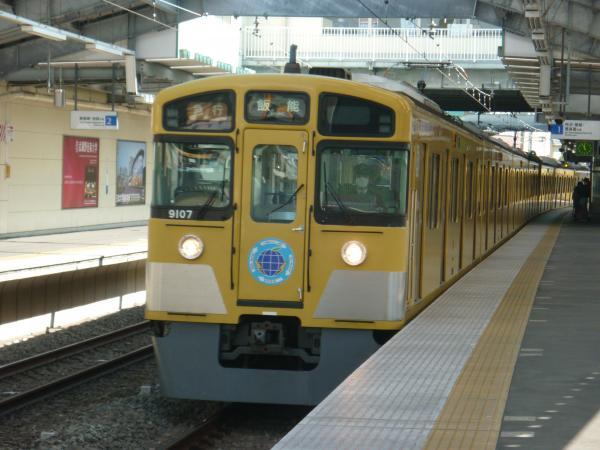 2014-02-28 西武9107F 急行飯能行き