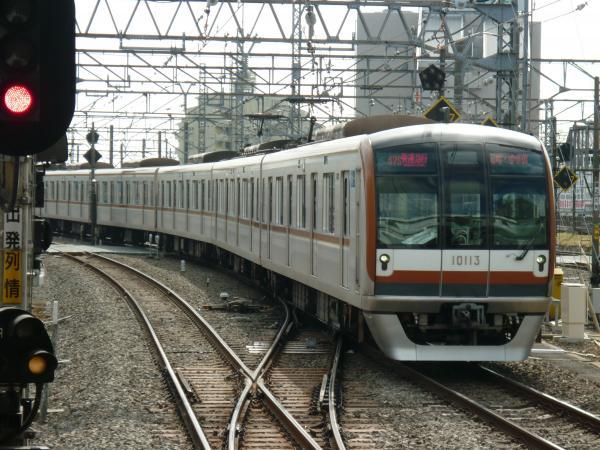 2014-02-28 メトロ10113F 快速急行元町・中華街行き