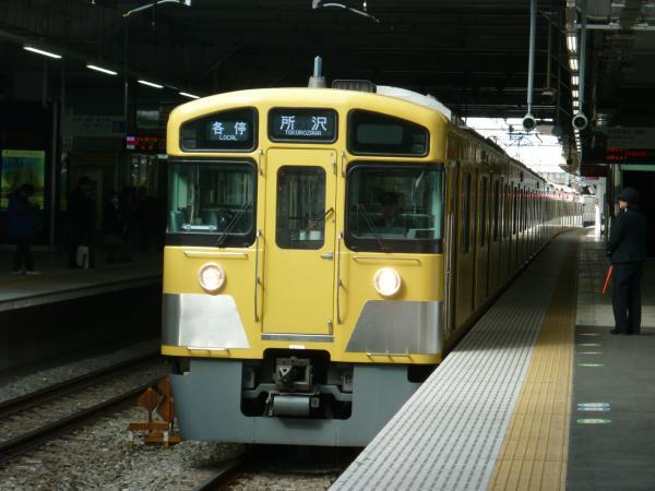 2014-02-28 西武2083F 各停所沢行き