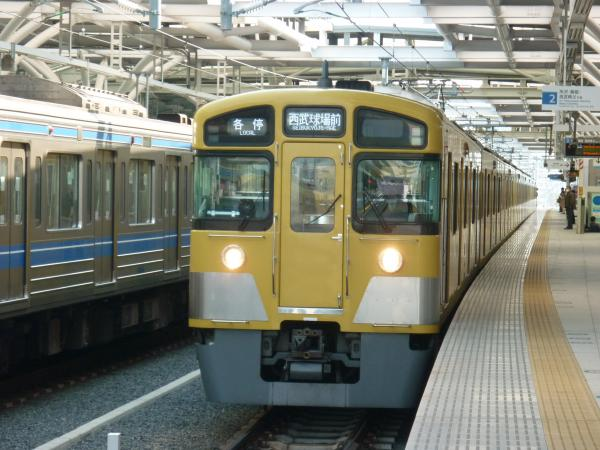 2014-03-09 西武2083F 各停西武球場前行き1