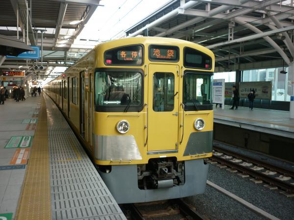 2014-03-09 西武2087F 各停池袋行き