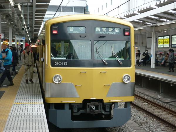 2014-02-28 西武3009F 各停西武新宿行き2
