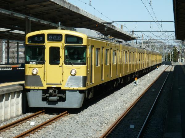 2014-03-15 西武2055F 各停西所沢行き1