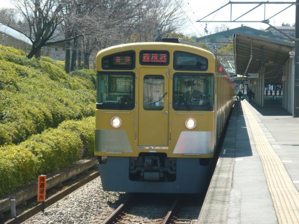 2014-03-15 西武2087F 各停西所沢行き2