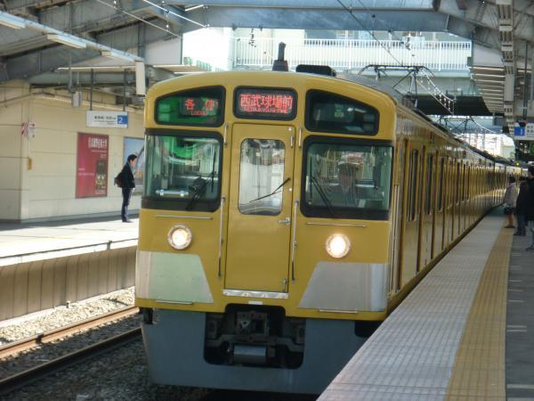 2014-03-15 西武2087F 各停西武球場前行き1