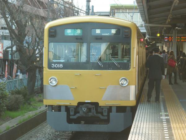 2014-03-15 西武3017F 準急飯能行き2