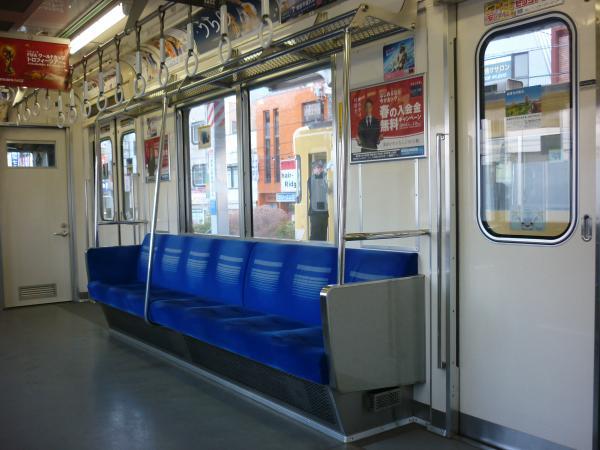 2014-03-15 西武6154F 車内