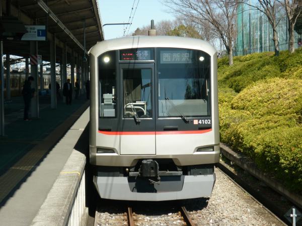 2014-03-15 東急4102F 各停西所沢行き