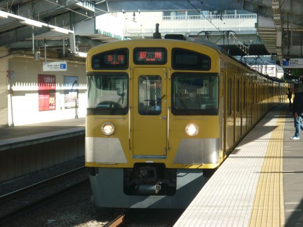 2013-11-23 西武2087F 各停飯能行き1