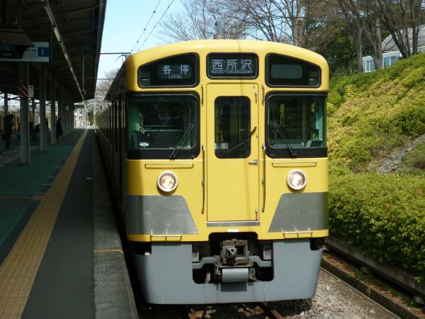 2014-03-21 西武2083F 各停西所沢行き1