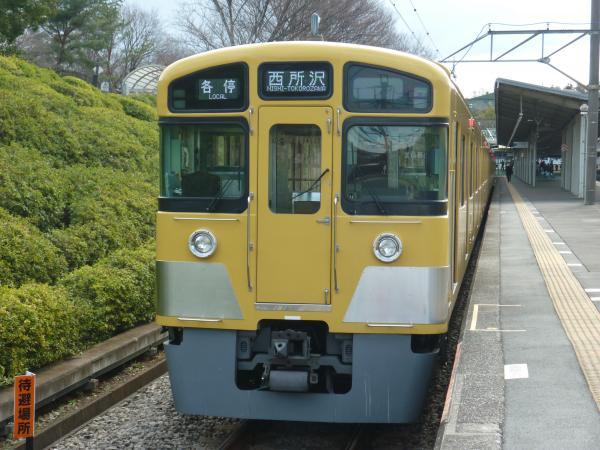 2014-03-21 西武2083F 各停西所沢行き2