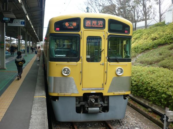 2014-03-21 西武2087F 各停西所沢行き