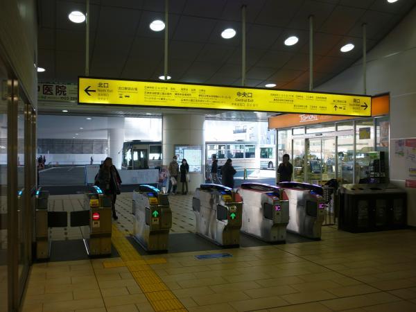 2014-03-21 石神井公園駅 自動改札