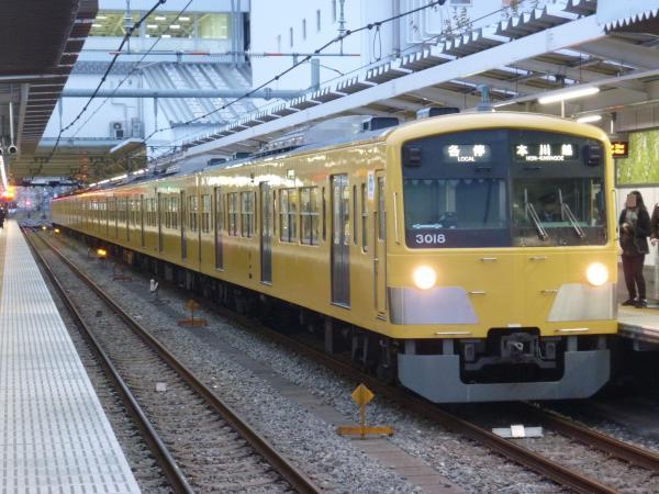 2013-12-27 西武3017F 各停本川越行き
