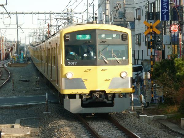 2014-03-15 西武3017F 準急飯能行き1