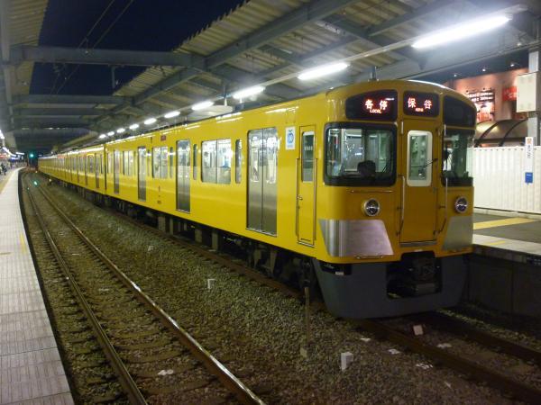2014-03-28 西武2073F 各停保谷行き2 5731レ