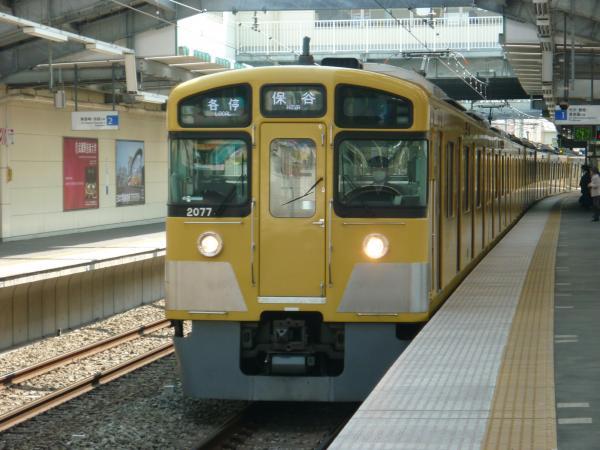 2014-03-28 西武2077F 各停保谷行き 5715レ