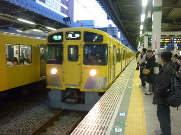 2014-03-28 西武2463F+2503F+2501F 準急池袋行き 4222レ
