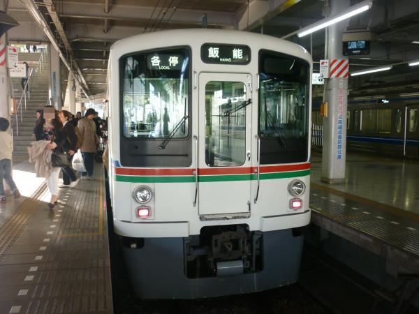 2014-03-28 西武4013F 各停飯能行き 5046レ